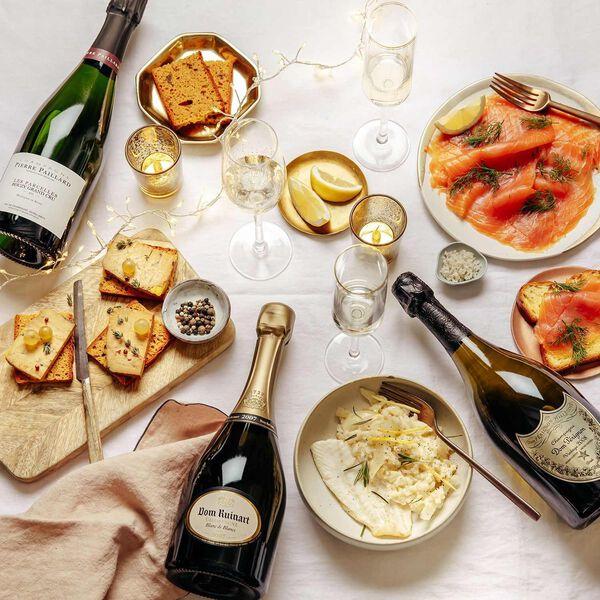 Champagne de fêtes : le choisir, l'accorder et le déguster.