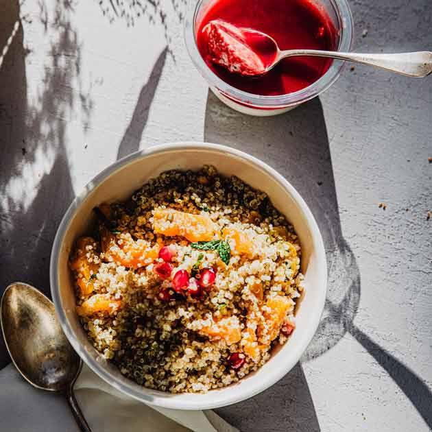 la grande épicerie de Paris - Printemps été - créations des chefs - quinoa