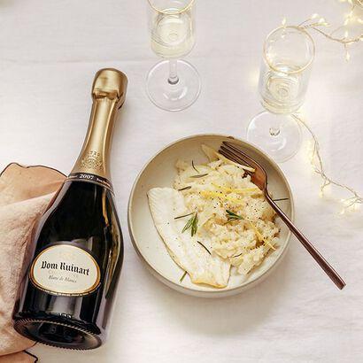la grande épicerie de Paris - champagne and rice