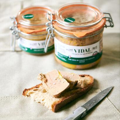 Foie gras bocaux  Vidal