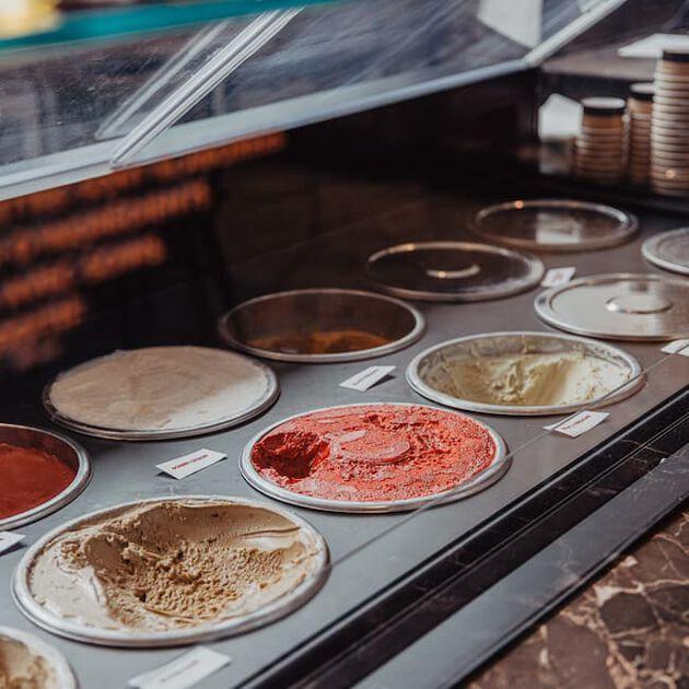 la grande épicerie de Paris - les glaces de nos chefs au Petit Café