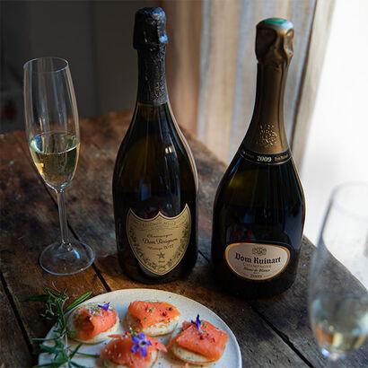 la grande épicerie de Paris - champagne salmon