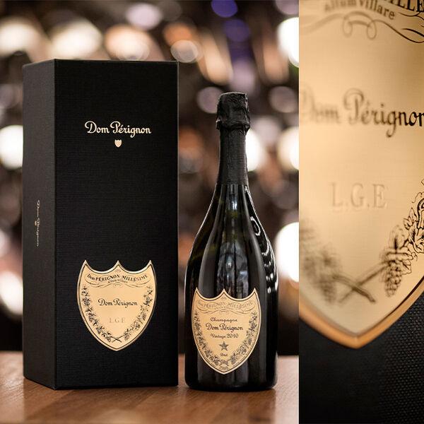 Dom Pérignon – personnalisez votre coffret de champagne Vintage 2010