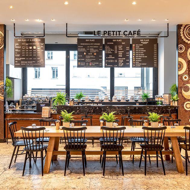 Nos restaurants - La Grande Epicerie - Petit café