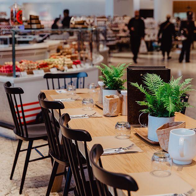 la grande épicerie Rive Gauche - petit café