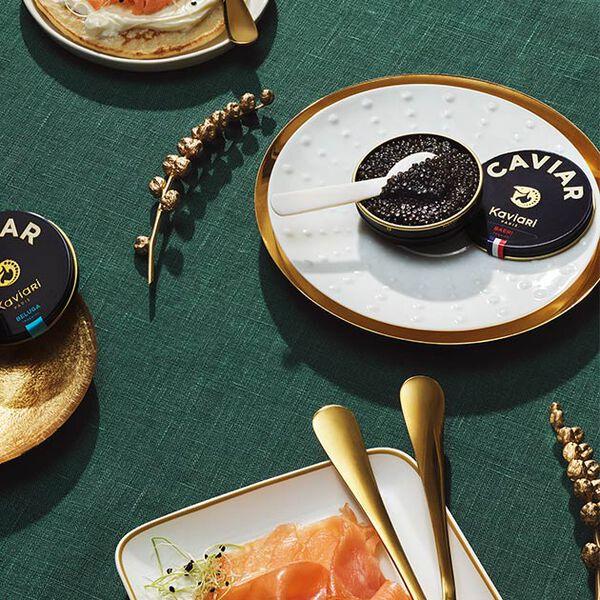 Déclinaisons autour du caviar par la Maison Kaviari