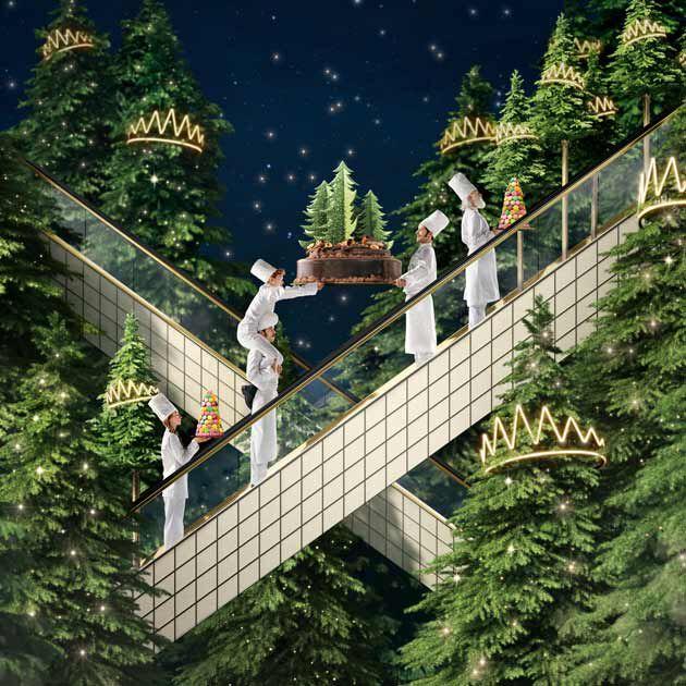 la grande épicerie de Paris - Noël - Le roi des forêts