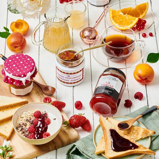 Les confitures et préparations de fruits