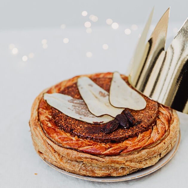 la grande épicerie de Paris -  poire marron gallette