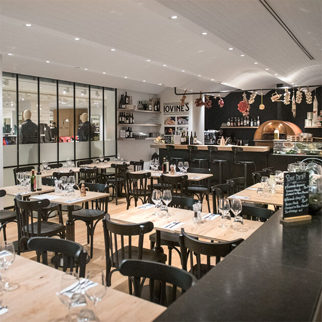Nos restaurants - La Grande Epicerie - iovines - rive gauche