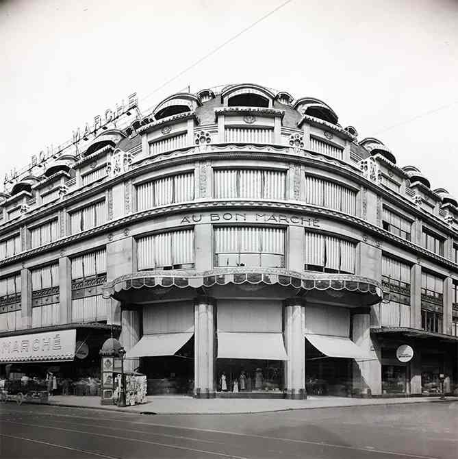 histoire magasins rive gauche grande épicerie