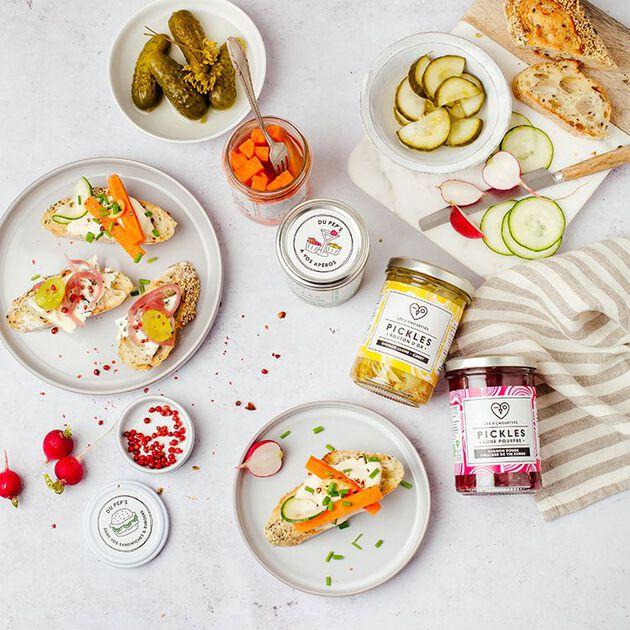 la grande épicerie de Paris - la tendance des pickles