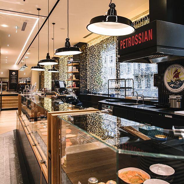 Restaurant - La Grande Epicerie - Petrossian