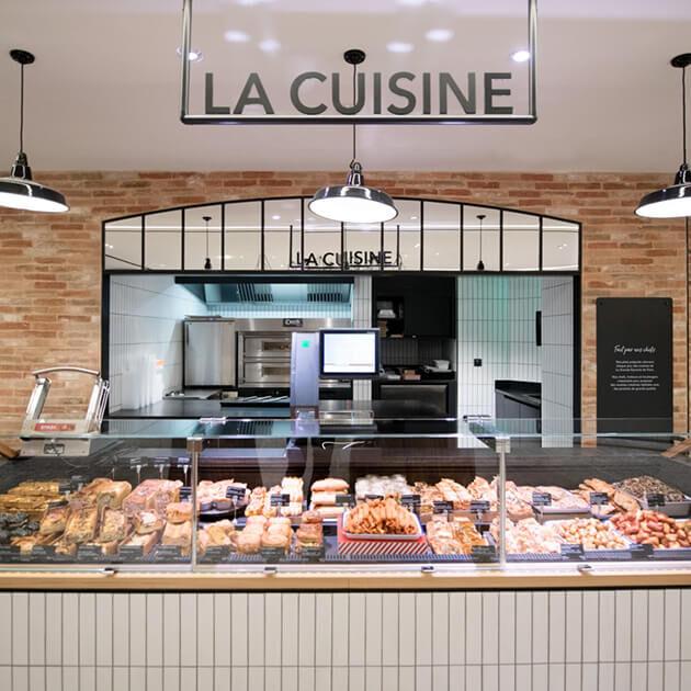 Nos restaurants - La Grande Epicerie - La cuisine