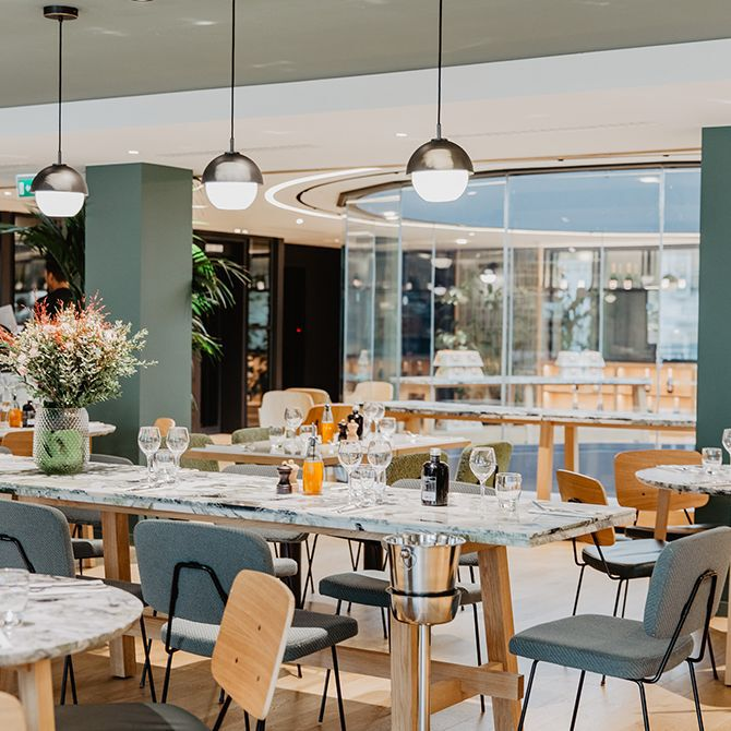 La Grande Epicerie de Paris - restaurant caterina