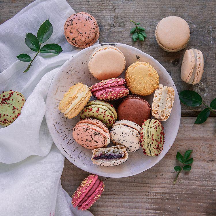 macarons de nos chefs la grande epicerie de paris
