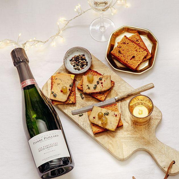 la grande épicerie de Paris - champagne et foie gras