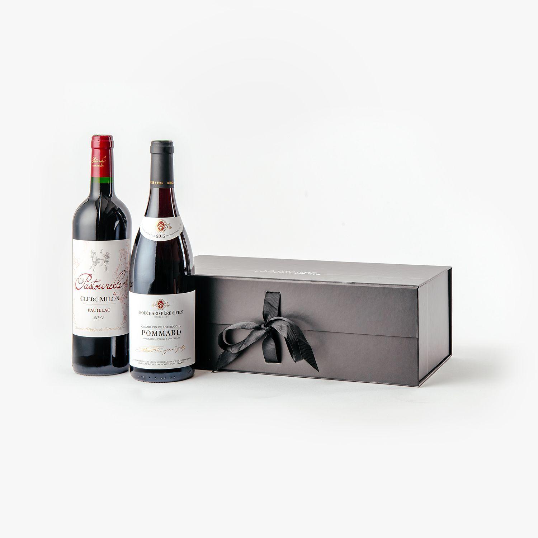 corbeille-cadeau-duo  de vin