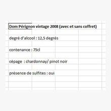 Dom Pérignon Vintage 2008 Dom Pérignon