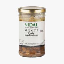 Goose and chestnut stew Vidal