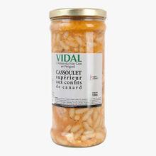Cassoulet supérieur aux confits de canard Vidal