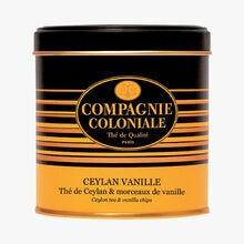 Ceylon vanilla - Ceylon tea & vanilla pieces Compagnie Coloniale