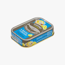 Sardines cuisinées à déguster chaud au beurre de baratte Conserverie la Belle-Iloise