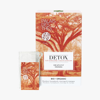 Organic South African detox, box of 20 muslin teabags Palais des Thés