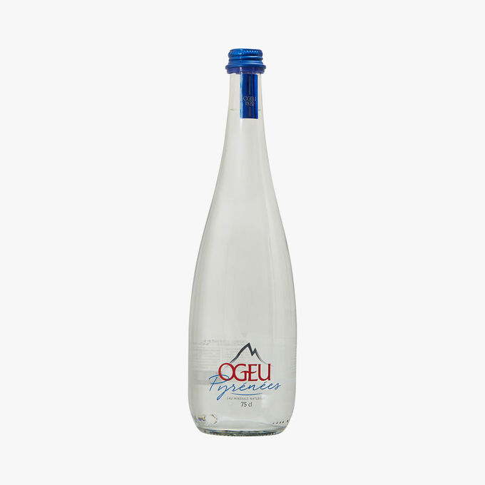 Natural mineral water fortified with gas from the source Ogeu