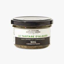 Seaweed, capers and gherkin tartar La Grande Épicerie de Paris