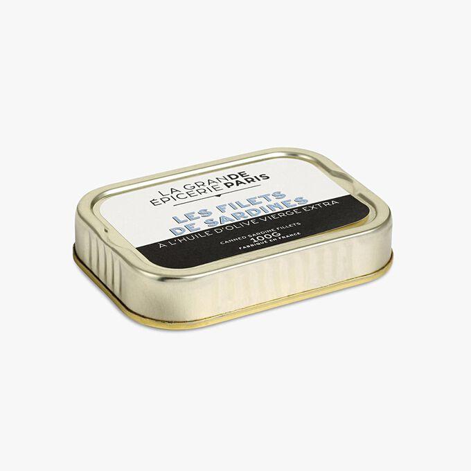 Filets de sardines à l'huile d'olive vierge extra La Grande Épicerie de Paris