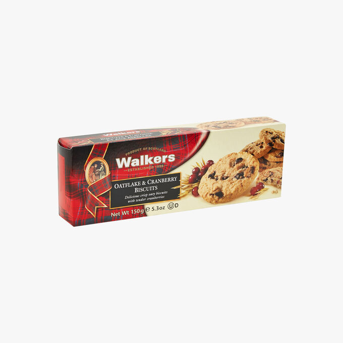 Cranberry oat cakes Walkers