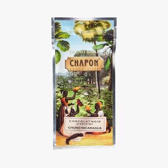 Tablette chocolat noir Chuno Nicaragua 70% Chapon