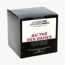 Au thé des dames - thé vert parfumé aux fruits rouges  15 sachets individuels La Grande Épicerie de Paris