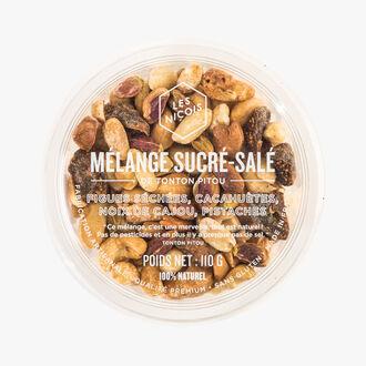 Mélange sucré-salé - figues séchées, cacahuètes, noix de cajou, pistaches Les Niçois