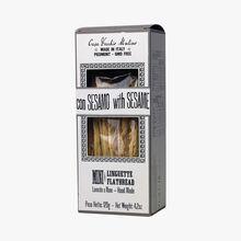 Mini flatbreads with sesame seeds Casa Vecchio Mulino