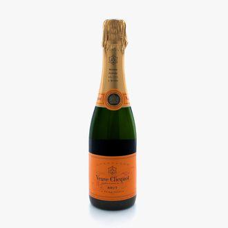 Half-Bottle of Veuve Clicquot Yellow Label Brut Champagne Veuve Clicquot
