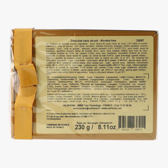 25 assorted chocolates Valrhona