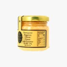 Crème au fromage parmigiano reggiano et à la truffe d'été 2 % - Tuber aestivum Maison de la Truffe