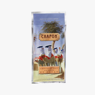 Milk chocolate bar with cocoa nibs 45 % Chapon