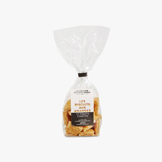 Biscuits bonbon aux amandes et fruits confits La Grande Épicerie de Paris