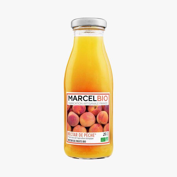 Nectar de pêche bio Marcel Bio