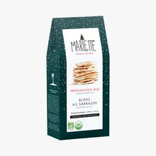 Organic mix for buckwheat blinis Marlette
