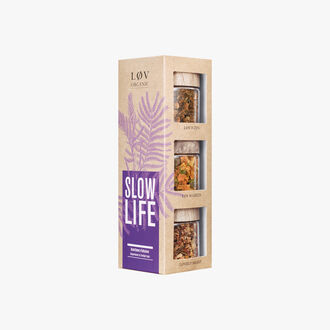 Slow Life Box, Assortment of infusions Lov Organic