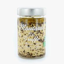 Moutarde bio saveur truffe et poivre noir à l'huile d'olive Savor & Sens