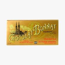 Chocolat noir au praliné amandes Bonnat