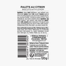 Palets au citron La Grande Épicerie de Paris