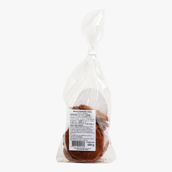 Crisp caramel and apple tatin biscuits La Craquanterie