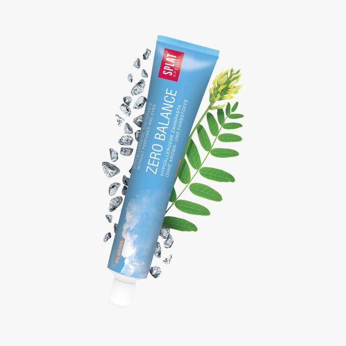 Dentifrice Splat Zero Balance - sans aromatisants Splat