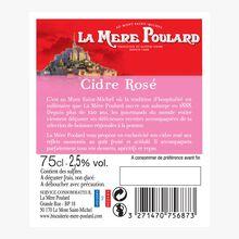 Cidre rosé La mère Poulard